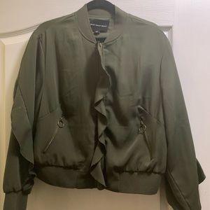 Jackets & Blazers - Jacket with ruffle styling